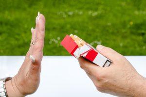 Süchtig nach Zigaretten